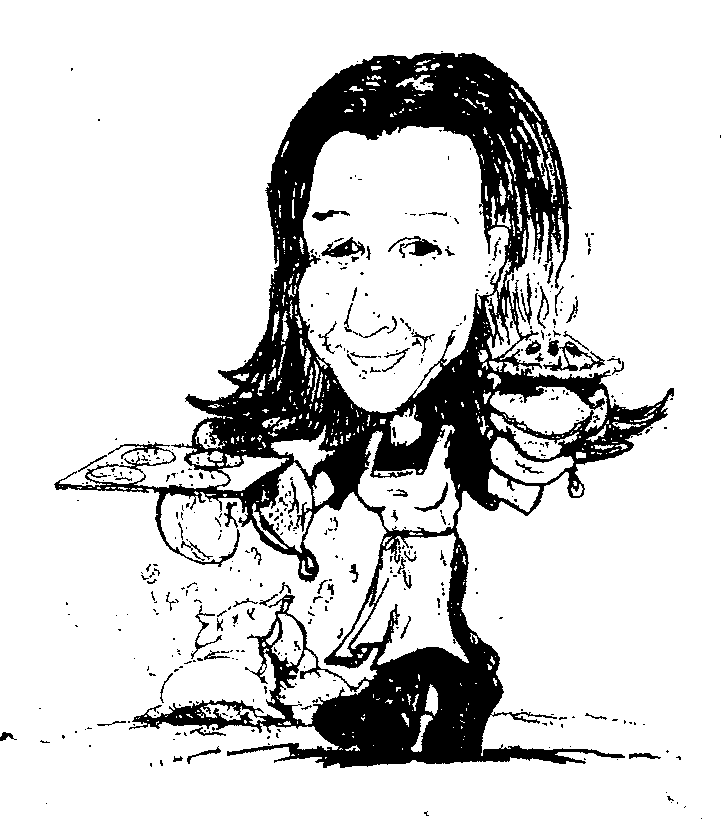 Charicature of Juliette.
